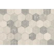 BrickLane White Hexagon