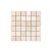 Crema Marfil Square Mosaic Polished