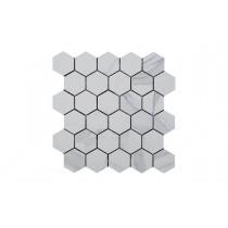 Calacatta Matt Hexagonal Mosaic