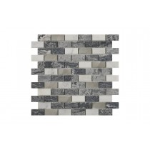 Greystone & Metal Mix Mosaic